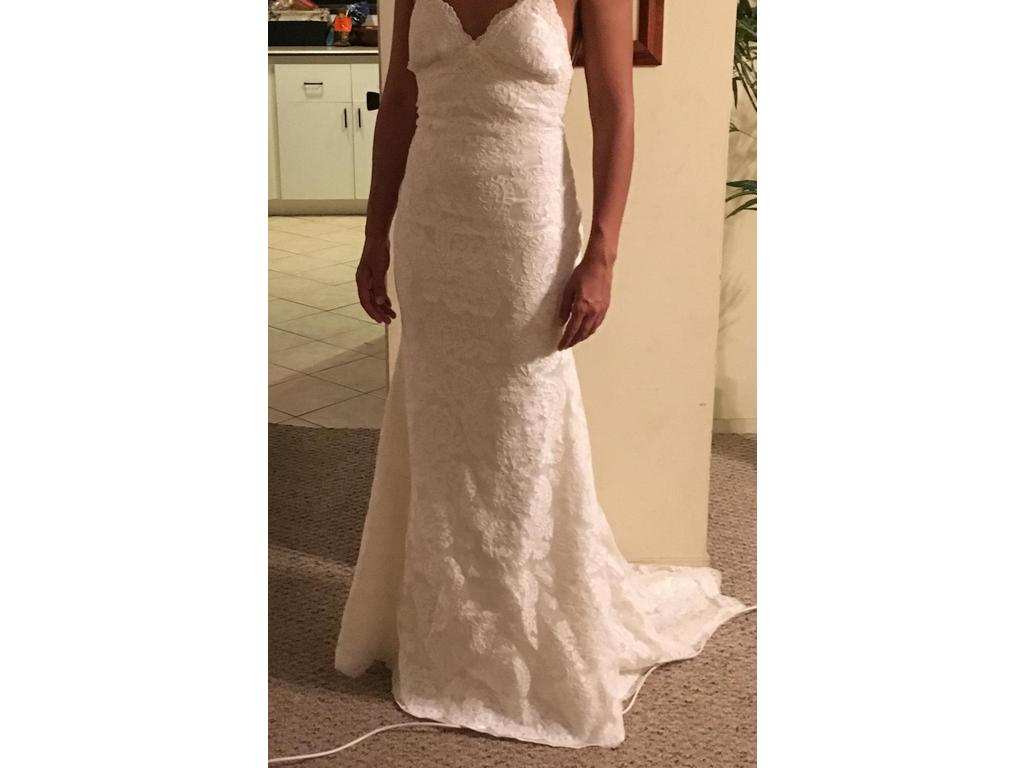 Katie May Poipu 1 000 Size 2 New Un Altered Wedding