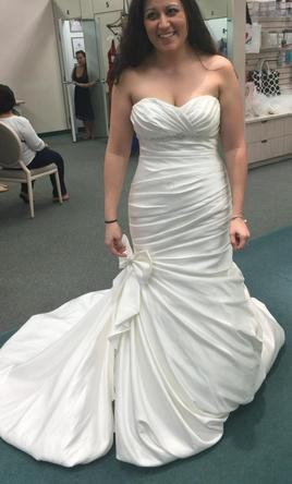 David's Bridal V3204 (Plus Accessories!),