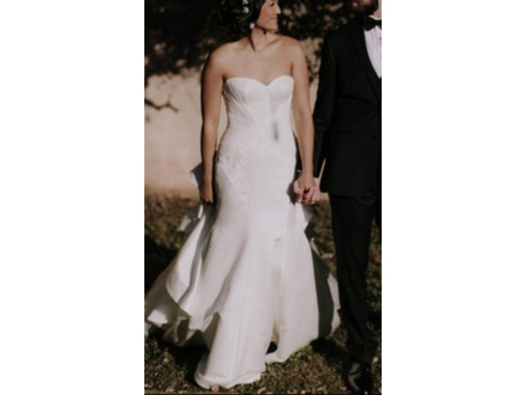 Zac posen truly zp345004 495 size 8 used wedding dresses for Zac posen wedding dresses sale