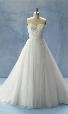 Alfred Angelo Cinderella/Style #205, $600 Size: 0 | New (Un-Altered ...