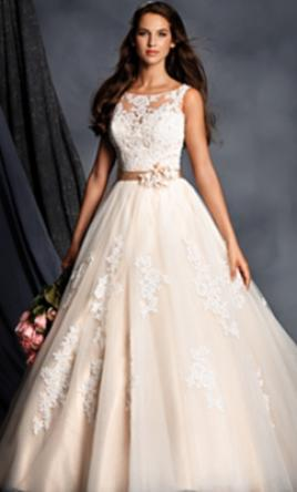 Alfred Angelo 2508, $687 Size: 18 | New (Un-Altered) Wedding Dresses