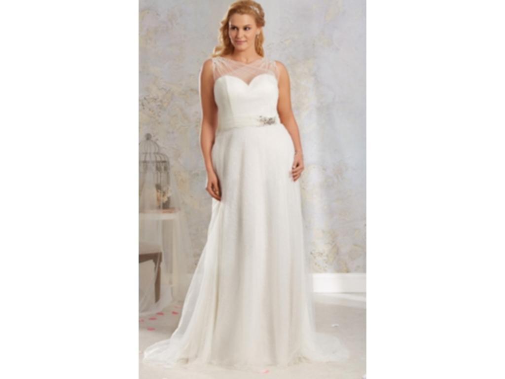 Alfred Angelo 8541, $499 Size: 18W | New (Un-Altered) Wedding Dresses