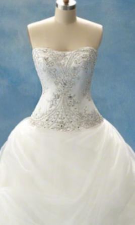 Alfred Angelo Belle 206 Wedding Dress New Size 18w 649