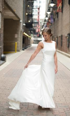J. Crew Percy Gown, $400 Size: 4 | Used Wedding Dresses