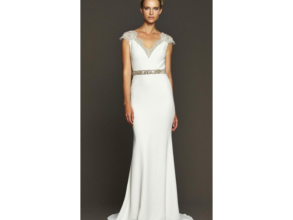 Wedding Dresses For USD 800 : Badgley mischka fonda size new un altered wedding dresses