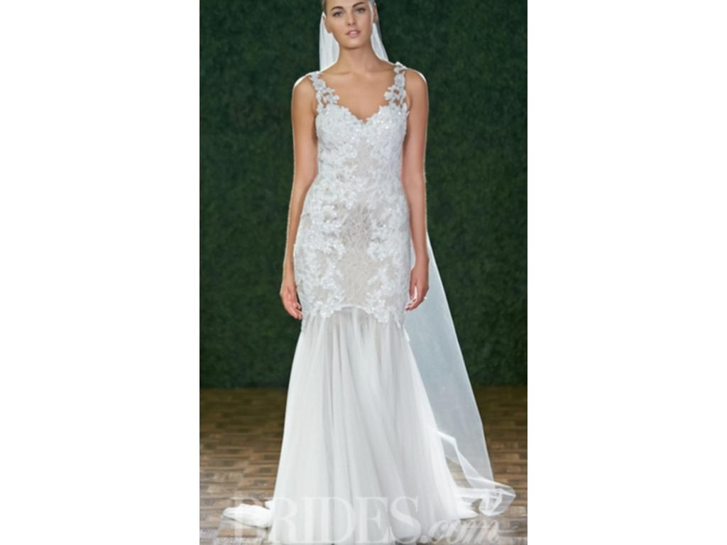 Watters cinzia 2 700 size 6 new un altered wedding for Buy used wedding dresses online