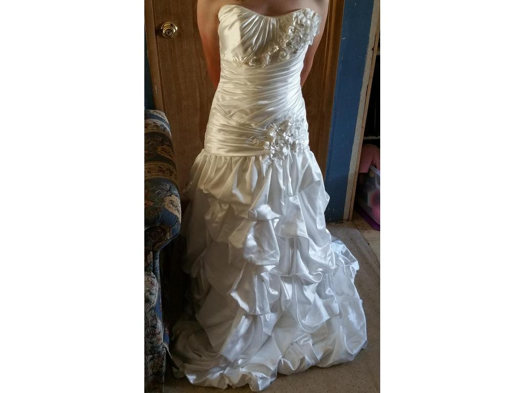 Maggie sottero couture 650 size 12 new un altered for Maggie sottero couture wedding dress