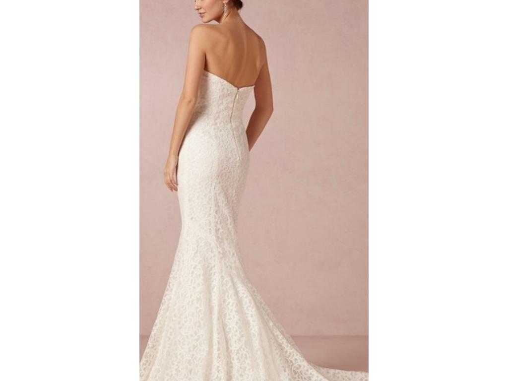 Nicole miller poppy bridal gown 500 size 00 used for Wedding dresses for 500 or less