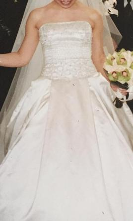 Reem Acra This dress was custom made by a bridal boutique  6
