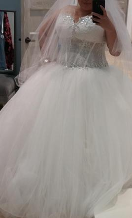 Pnina Tornai Sweetheart Ball Gown in Tulle 22