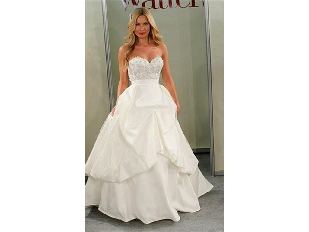 Wtoo Two-Piece Separates Gown, $800 Size: 10 | Sample Wedding Dresses