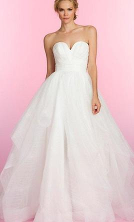 Hayley Paige 6507/Esther , $1,300 Size: 4   New (Altered) Wedding ...