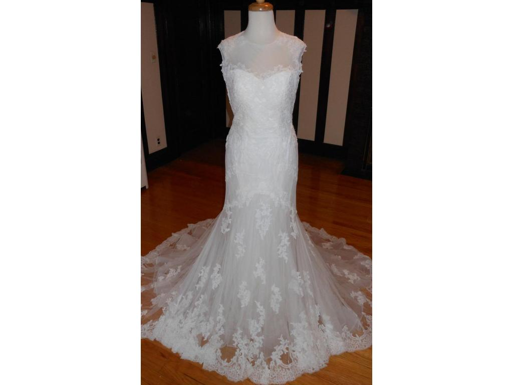 Pronovias daimi 699 size 10 new un altered wedding for Size 10 wedding dress