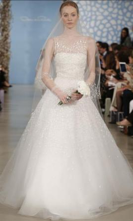 Oscar de la renta 55e09 5978 size 6 new un altered wedding pin it oscar de la renta 55e09 6 junglespirit Gallery