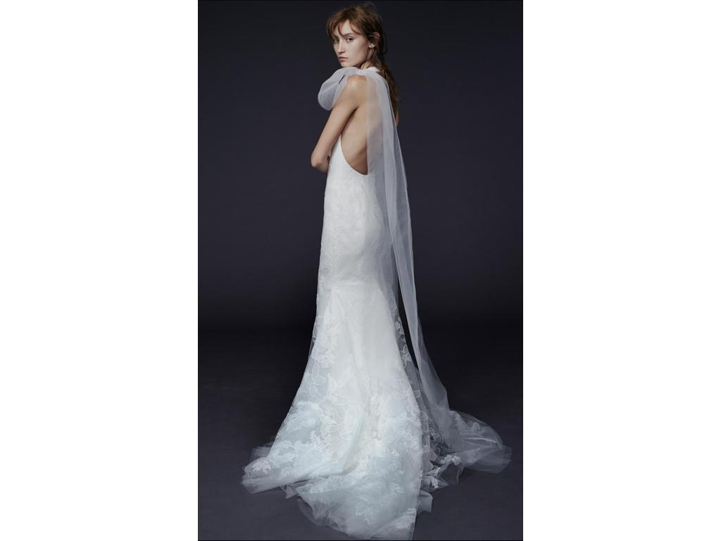 Vera wang piper 2 490 size 0 used wedding dresses for Vera wang used wedding dress
