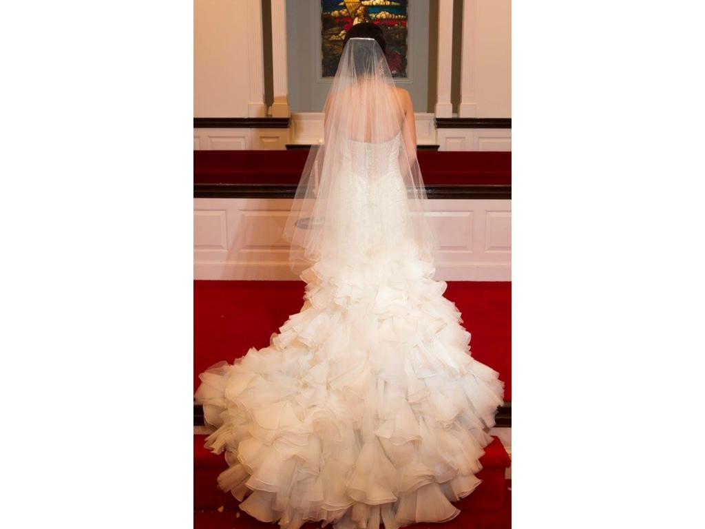 Maggie sottero serencia 450 size 4 used wedding dresses for Best place to buy used wedding dresses