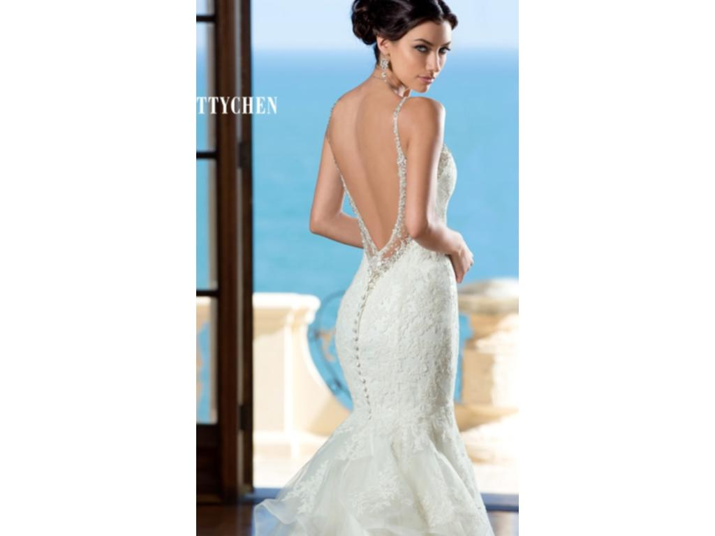 Kitty Chen Tiana, $1,000 Size: 10   New (Un-Altered) Wedding Dresses