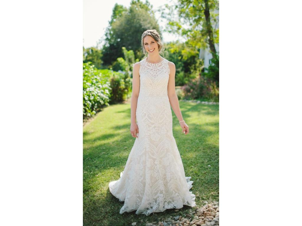 Bhldn adalynn 1 200 size 8 used wedding dresses for Bhldn used wedding dresses