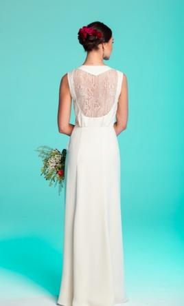 Other anthropologie bridal sian gown 1 000 size 6 for Wedding dresses colors other than white