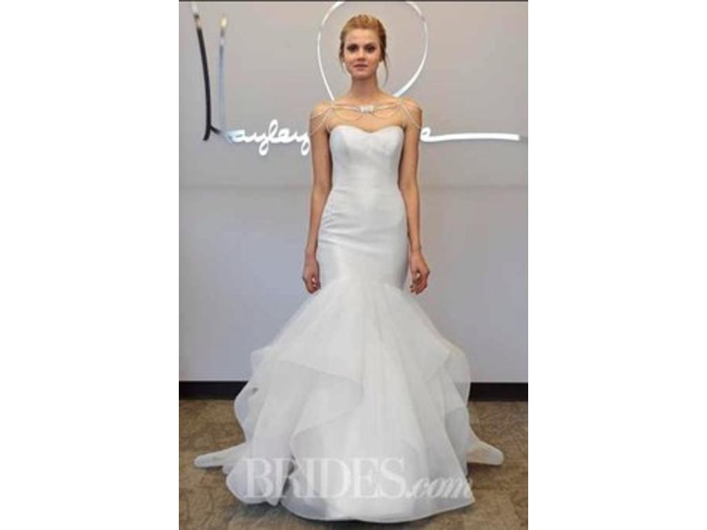Low Cost Wedding Dresses Nyc : Hayley paige blush river size used wedding dresses