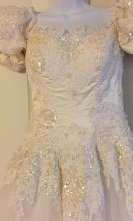 Private label 450 size 6 used wedding dresses for Private label wedding dress