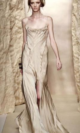 Other Donna Karan Tissue Crepe Silk Gown 4