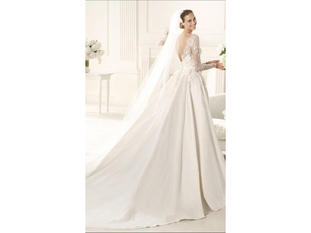Pronovias elie saab wedding dresses prices discount for Cost of cleaning wedding dress