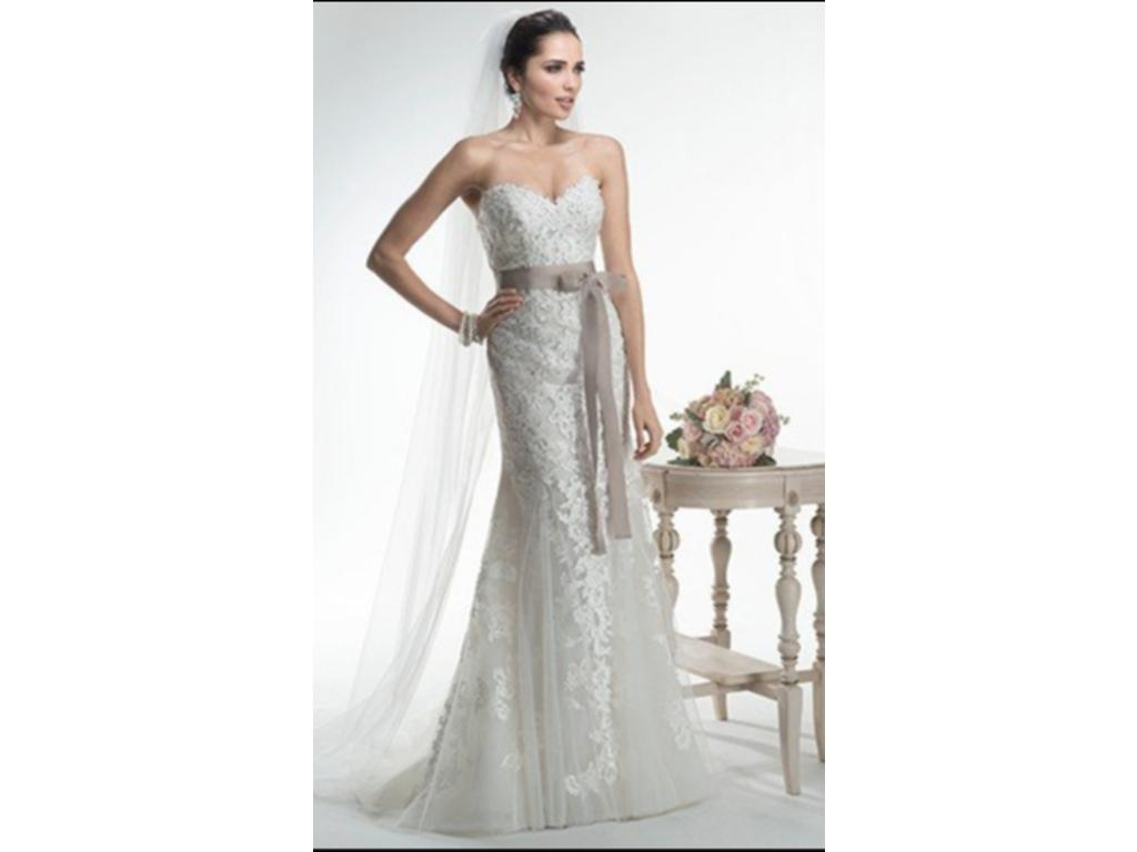 Sample Maggie Sottero Wedding Dresses Sale High Cut