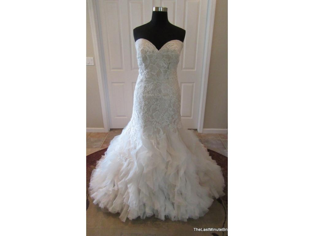 Allure bridals 9254 1 099 size 30 new un altered for Size 30 wedding dresses