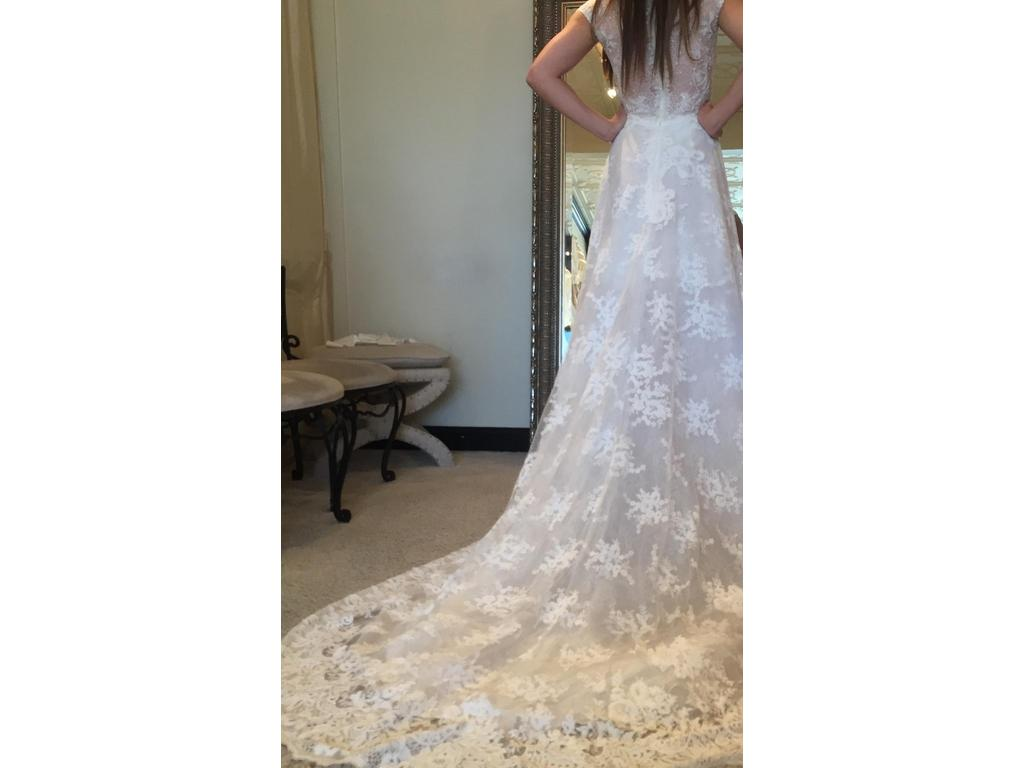 Ines di santo inspired 5 600 size 6 used wedding dresses for Ines di santo wedding dresses prices
