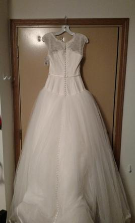Zac posen truly zp345016 725 size 2 new un altered for Zac posen wedding dresses sale