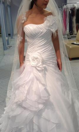 Alfred Angelo Style 210 From Disney Fairy Tale Bridal 680 Size 4 New Altered Wedding Dresses