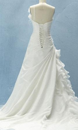 Alfred angelo style 210 from disney fairy tale bridal for Disney line wedding dresses