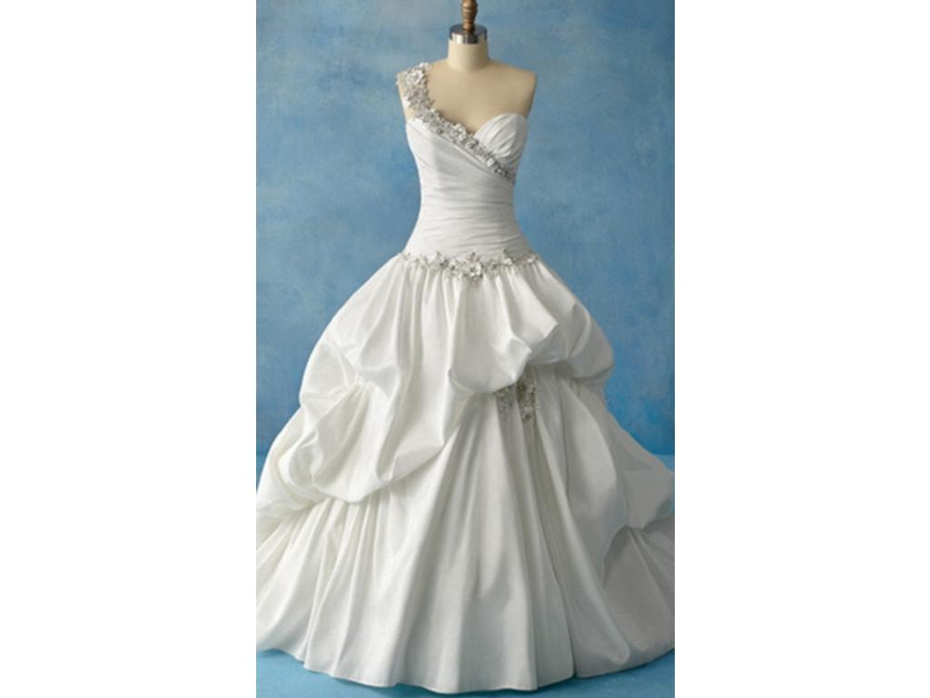 Alfred Angelo Tiana Style 204, $800 Size: 8 | New (Un-Altered ...