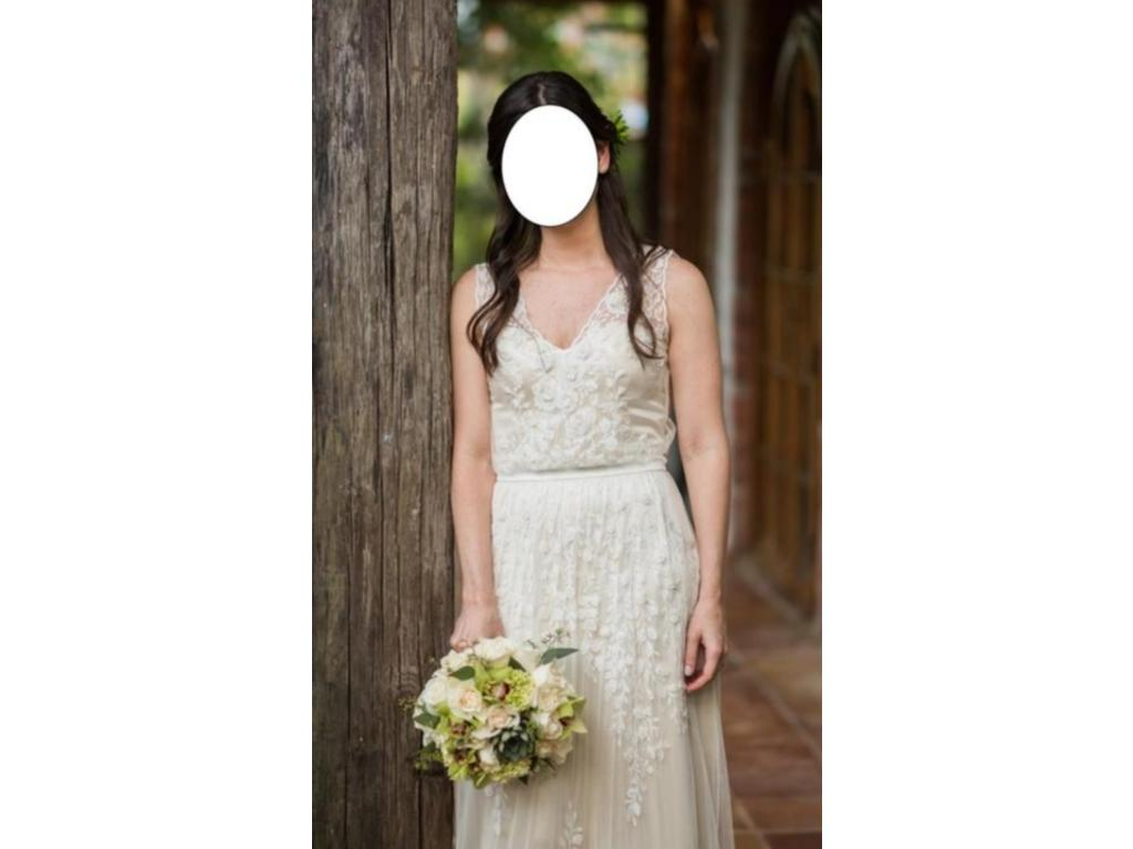 Catherine Deane BHLDN Sian Gown, $900 Size: 4 | Used Wedding Dresses
