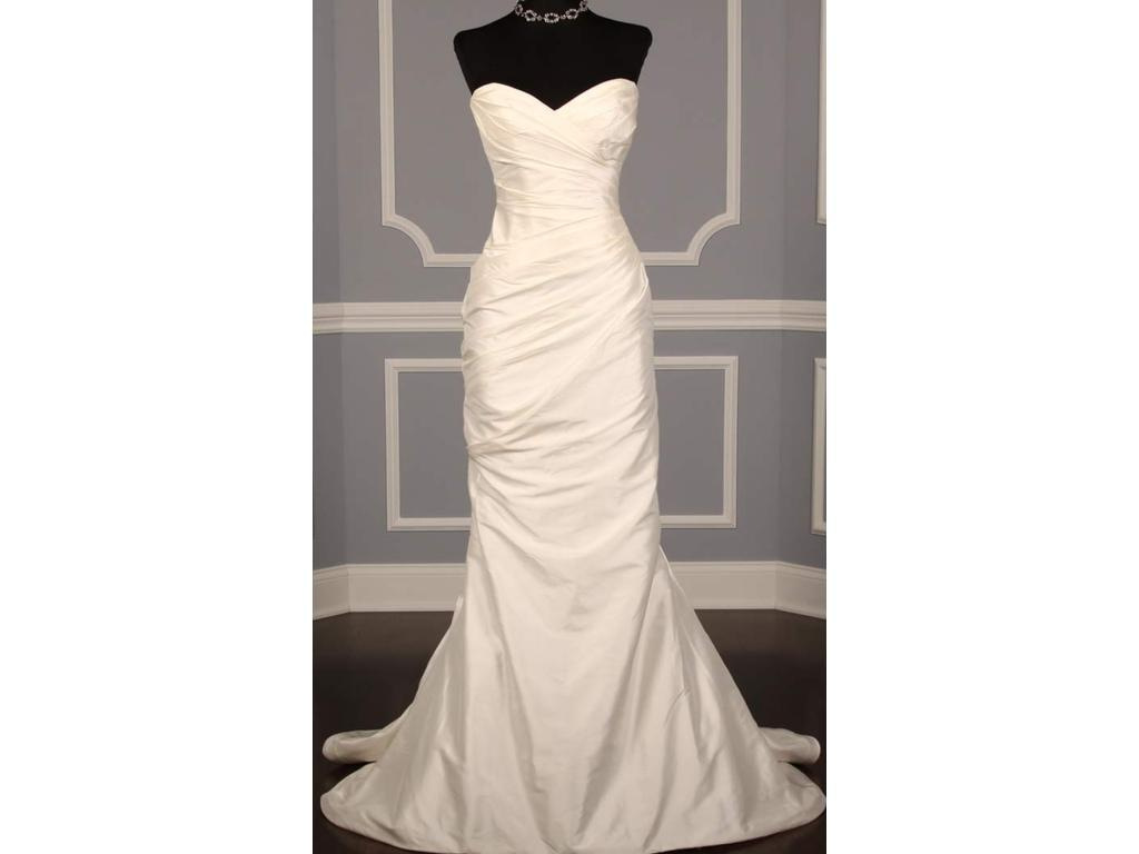 Romona keveza l111 400 size 10 used wedding dresses for Wedding dress shades of white