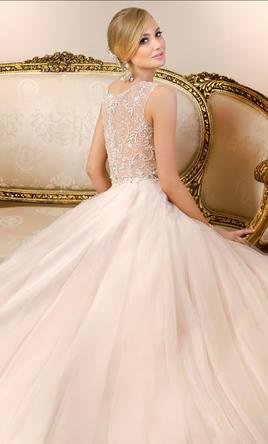 Stella York Tulle A-Line wedding gown/6013 10