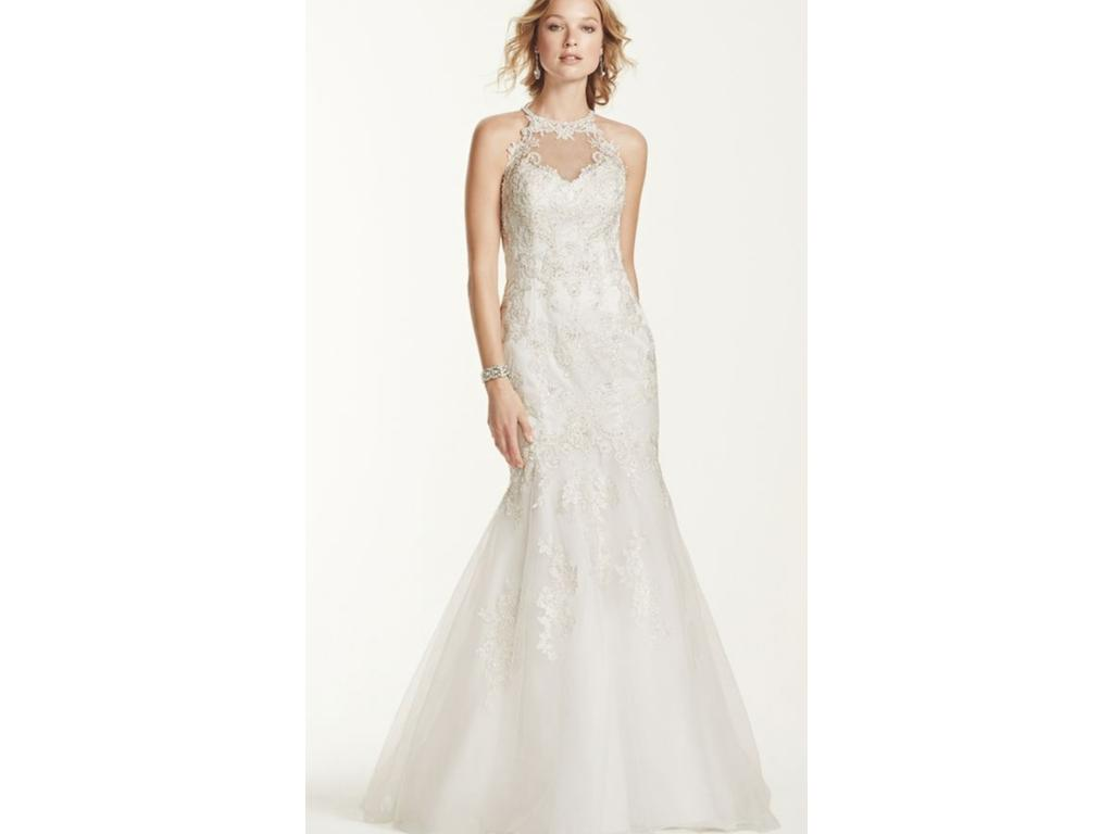 David\'s Bridal WG3735, $499 Size: 4 | New (Altered) Wedding Dresses