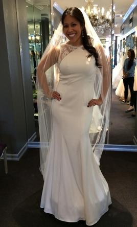 Pin It Theia Taylor Wedding Gown 8