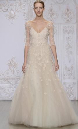 8e53eab21b9dd Monique Lhuillier Natalia Wedding Dress | New (Un-Altered), Size: 10 ...