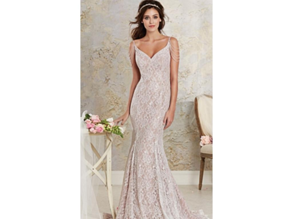 Alfred Angelo 8531 Modern Vintage, $565 Size: 10 | New (Un-Altered ...