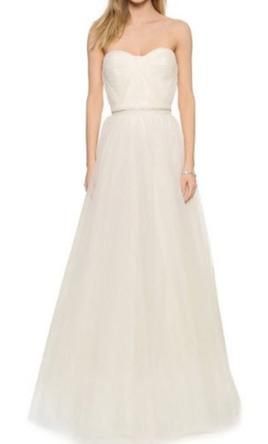 Reem Acra Virtue Strapless Gown  2