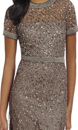 036c6fae35bf Pin it · Adrianna Papell  1008239 Beaded Mesh Gown 10