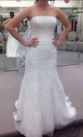 Zac posen truly zp341636 500 size 8 used wedding dresses for Zac posen wedding dresses sale