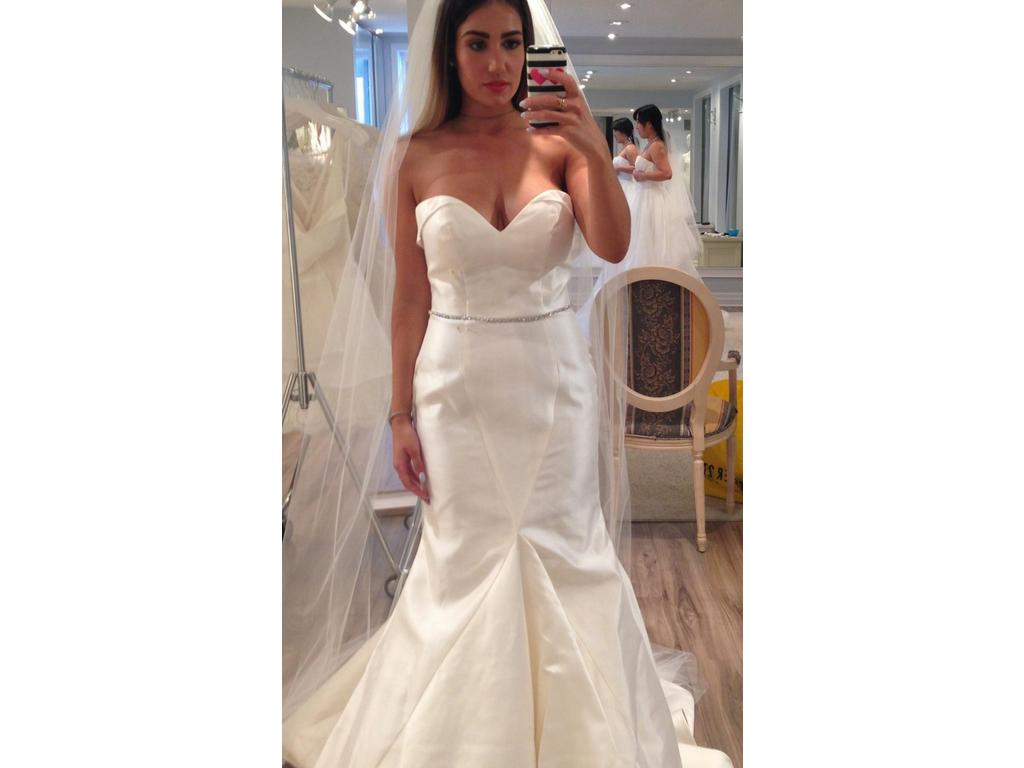 Preowned Wedding Dresses Nyc : Other tulle new york mermaid gown wedding dress currently for sale at
