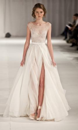 Paolo Sebastian Swan Lake  $4000 Size: 2  Used Wedding Dresses