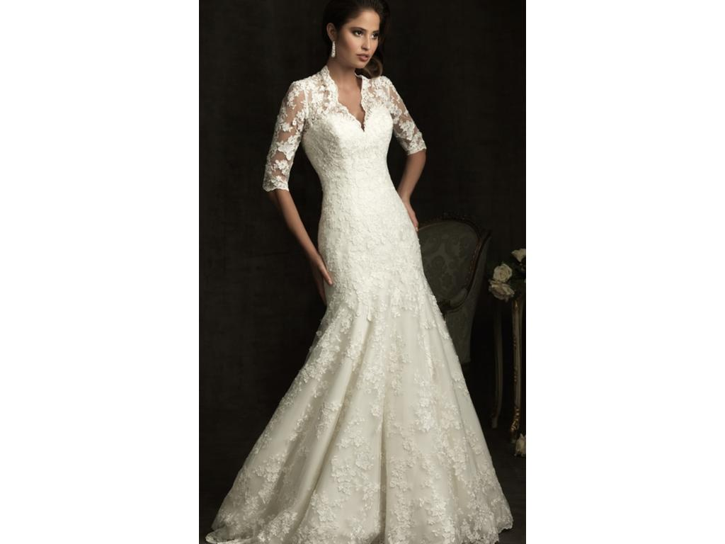 Allure Bridals 8900, $850 Size: 14 | New (Un-Altered) Wedding Dresses