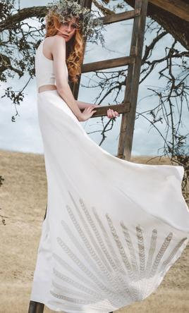 Mara Hoffman Freya Beaded Gown