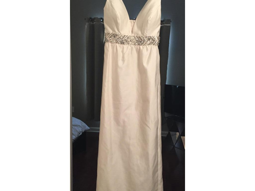 J crew annabelle 395 size 8 new altered wedding for J crew wedding dress size chart