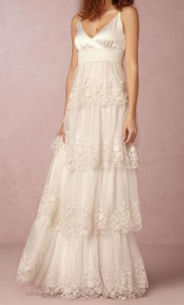 Bhldn zora gown 540 size 10 new un altered wedding for Wedding dresses similar to bhldn